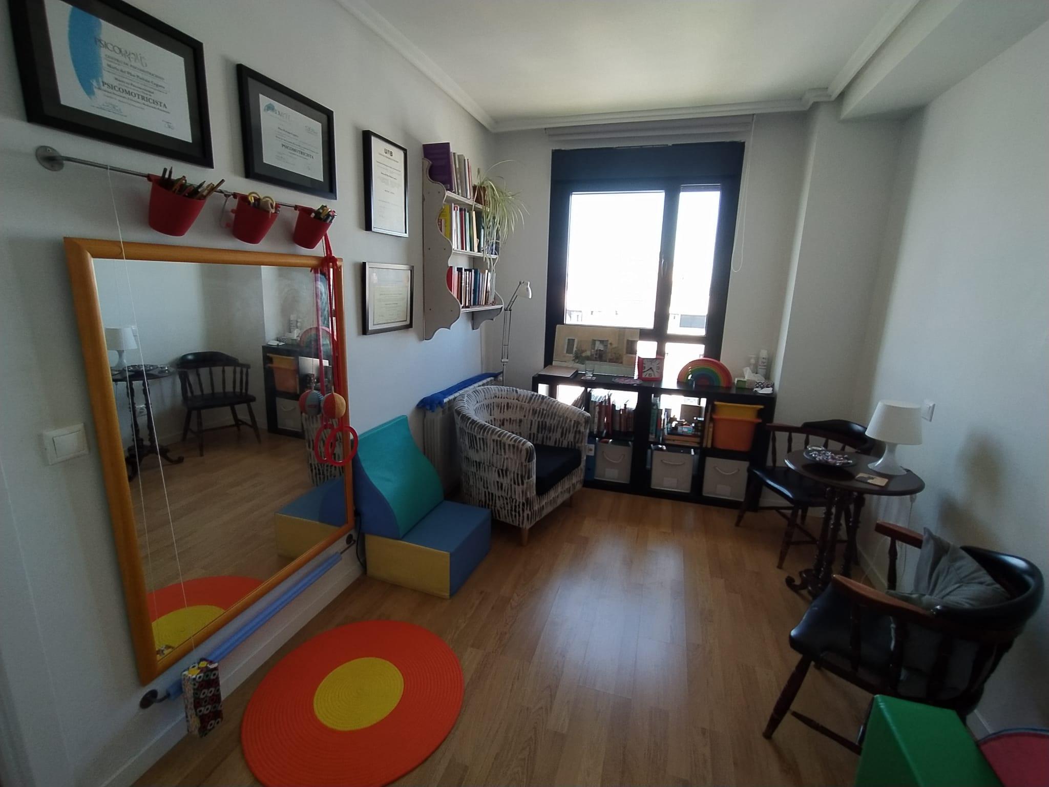 Sala psicoterapia psicomotriz